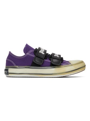 Palm Angels purple vulcanized sneakers
