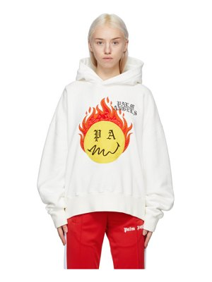 Palm Angels smiley edition tye-die hoodie