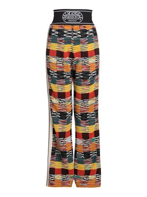 Palm Angels X Missoni knitted pants