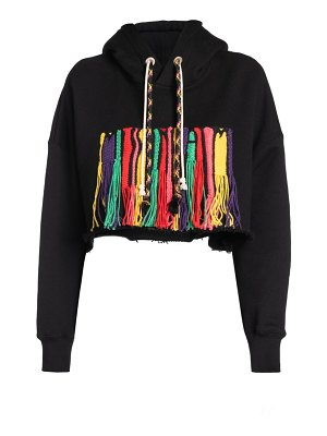 Palm Angels X Missoni melting embroidered logo hoodie