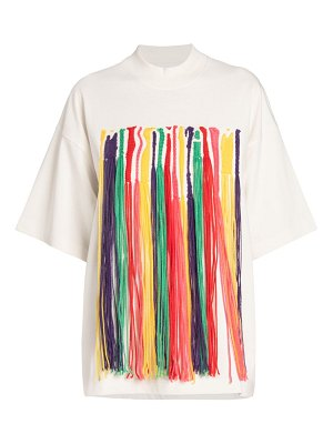 Palm Angels X Missoni melting embroidered t-shirt
