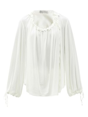 PALMER/HARDING palmer//harding - first moment ruched jersey blouse