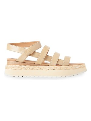 Paloma Barcelo Abacaxis Strappy Espadrille Platform Sandals