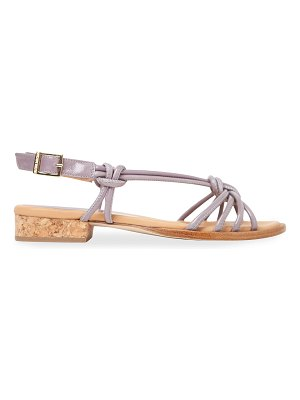Paloma Barcelo Pindare Strappy Leather Sandals