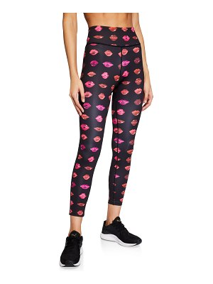Pam & Gela Lip Print 7/8 Active Leggings