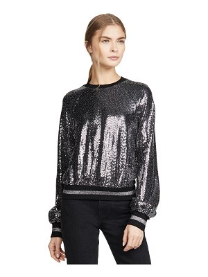 Pam & Gela mirror ball sweatshirt