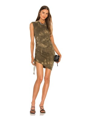 Pam & Gela ruched muscle dress