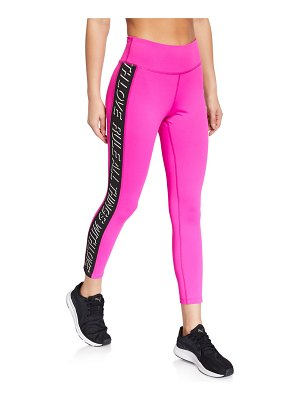 Pam & Gela Side-Stripe 7/8 Active Leggings