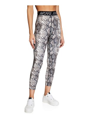 Pam & Gela Snake 7/8 Leggings