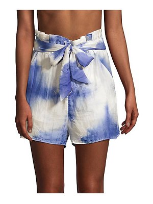 PAPER London horice tie-dye shorts
