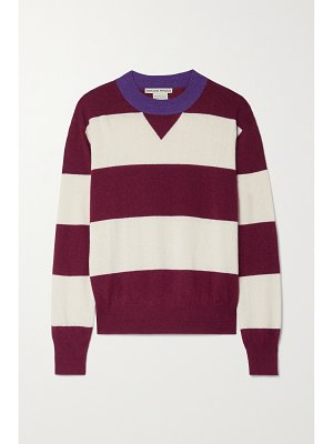 Paradis Perdus + net sustain claude striped recycled knitted sweater