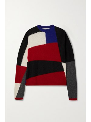 Paradis Perdus + net sustain joseph color-block recycled knitted sweater
