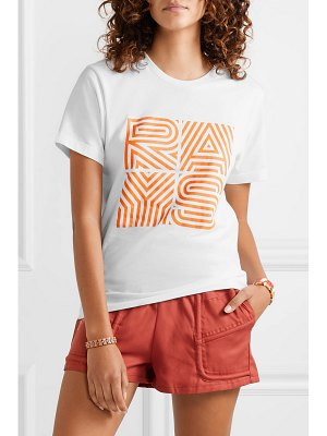 Paradised rays printed cotton-jersey t-shirt