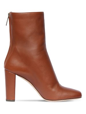Paris Texas 95mm leather ankle boots