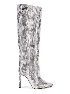 Paris Texas for fwrd python lame stiletto tall boot