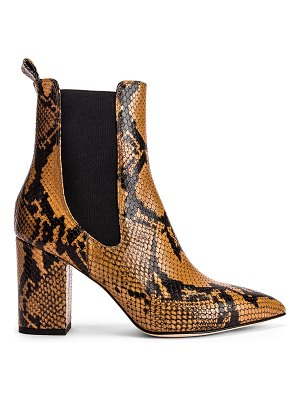Paris Texas python print ankle boot