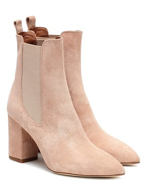 Paris Texas suede ankle boots