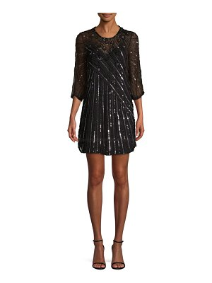 Parker Alejandra Sequin Shift Dress