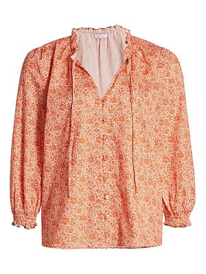 Parker brighton printed blouse