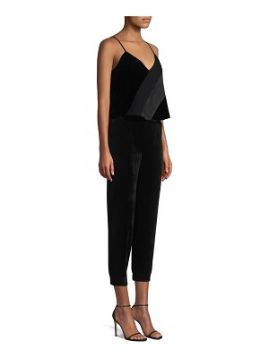 Parker Frida Combo Strapless Cropped Jumpsuit