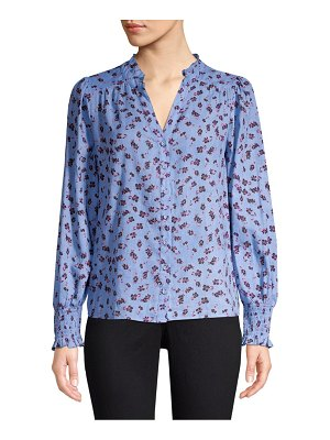 Parker Sophie Long Sleeve Button-Down Blouse