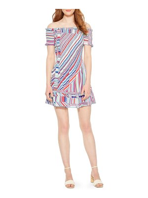 Parker zizola off the shoulder minidress