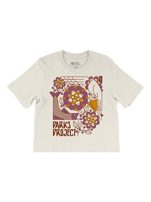 Parks Project art deco boxy graphic tee