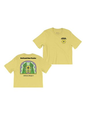 Parks Project defend our parks boxy graphic tee