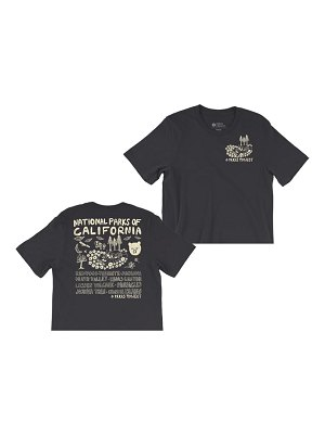 Parks Project national parks of california boxy graphic tee