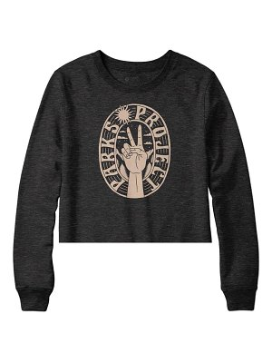 Parks Project peace in the parks crop graphic pullover