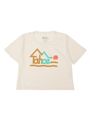 Parks Project tahoe faded crop graphic tee