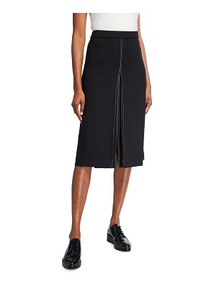 PARTOW Bay Stitched Skirt