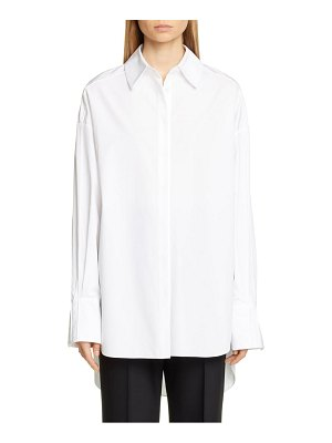 PARTOW hugo cotton poplin shirt