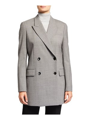 PARTOW Lennox Double-Breasted Long Wool Jacket