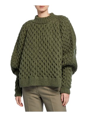 PARTOW Orion Chunky Cable-Knit Sweater