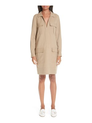 PARTOW pocket twill shirtdress