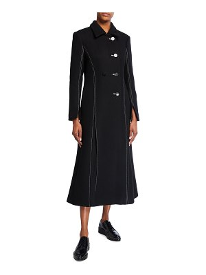 PARTOW Whitley Stitched Maxi Coat