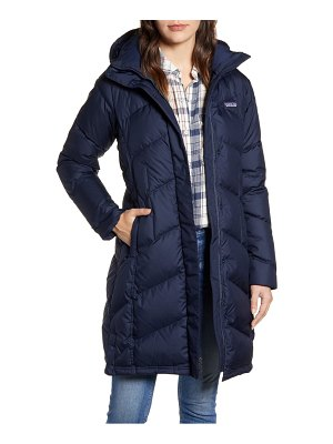 Patagonia down with it hooded down parka