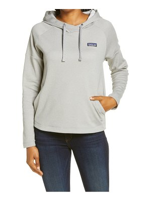 Patagonia quiet ride recycled polyester hoodie