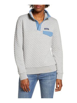 Patagonia snap-t quilted pullover