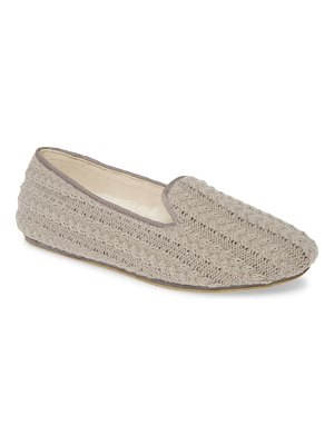 patricia green deluxe cable knit loafer