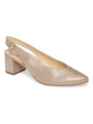 Paul Green brittany pointed toe slingback pump