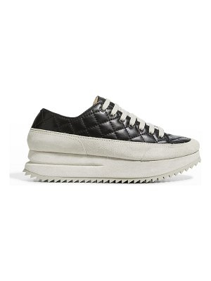 Pedro Garcia Osaka Quilted Leather Flatform Sneakers