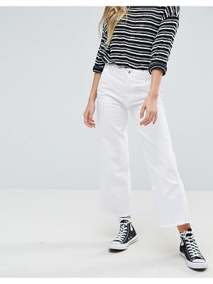 Pepe Jeans cropped kick flared jeans