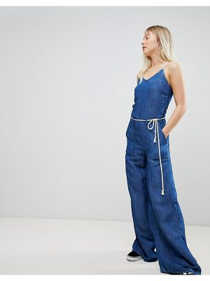 Pepe Jeans Flyer Retro Denim Jumpsuit