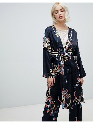 Pepe Jeans harpers floral print wrap dress