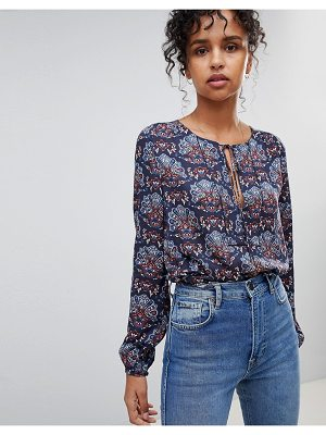 Pepe Jeans Nicole Floral Print Blouse