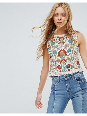 Pepe Jeans Rustic Floral Tank Top