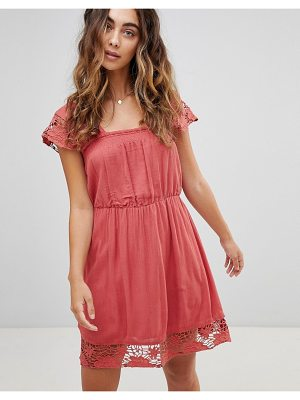 Pepe Jeans Wendy Lace Hems Dress