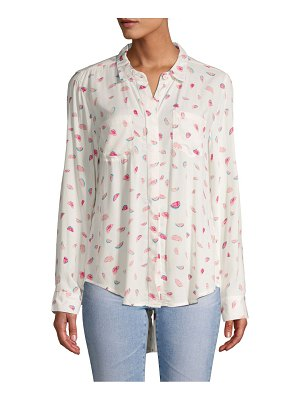 Alexander Jordan Printed Button-Down Shirt